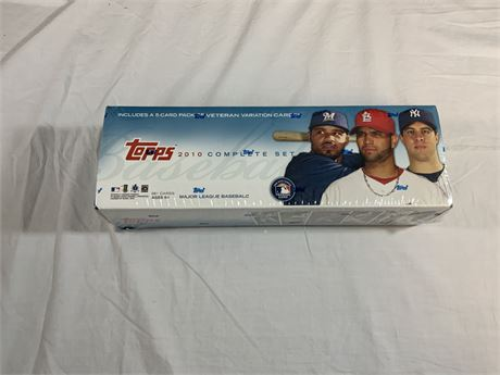 2010 Topps SEALED Factory Set
