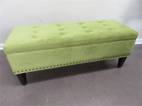 Tufted Storage Bench