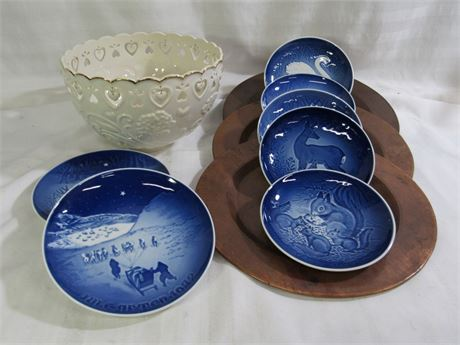 11 PIECE MISC. LOT INCLUDING LENOX AND BING GROHDAHL