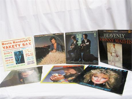 LOT OF MORE THAN 60 CLASSIC LPs!