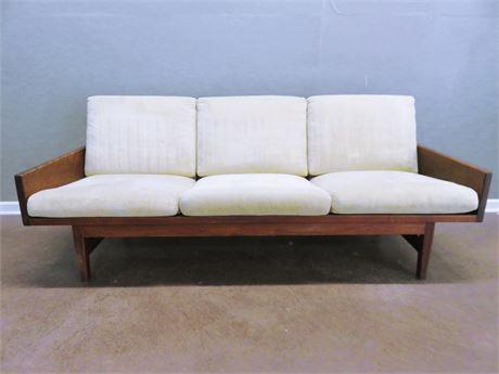 1968 ARDEN RIDDLE Mid-Century Modern Walnut Sofa