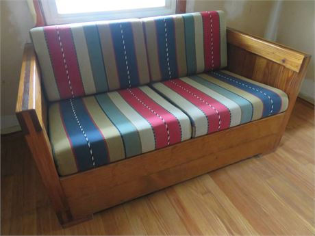 THIS END UP Loveseat
