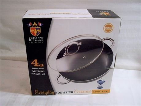 NIB - TABLETOP UNLIMITED PHILIPPE RICHARD COLLECTION 4QT ALUMINUM EVERYTHING PAN