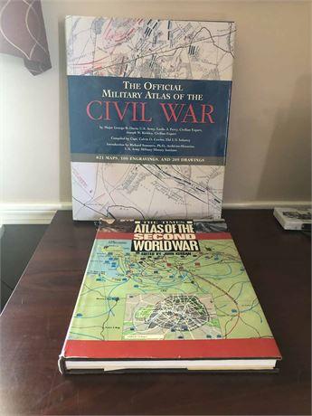 Civil War Atlas & WWII Atlas