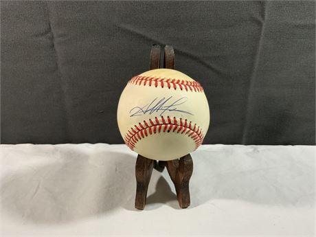 Albie Lopez AUTOGRAPH MLB Baseball