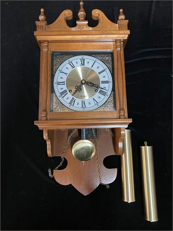 Vintage Hamilton Chiming Clock
