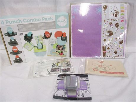 LOT OF SCRAPBOOKING ACCESSORIES - ALL NEW IN PACKAGING