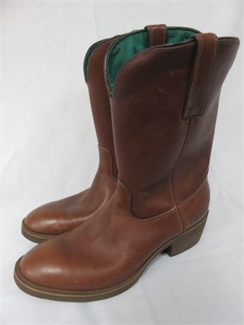 NORTHLAKE Mens Leather Western Boots - SIZE 8.5W