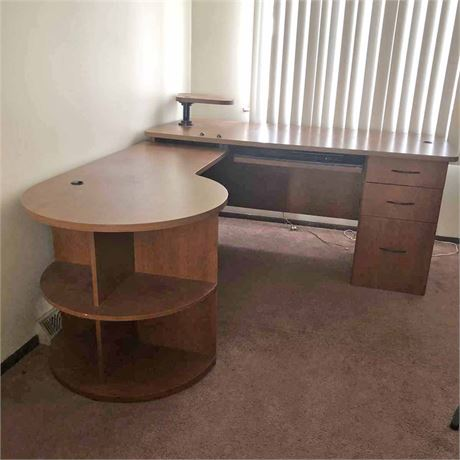 Home Office Corner Desk Unit