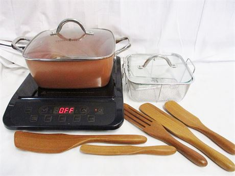 COPPER CHEF INDUCTION COOKTOP - MODEL KC16067-00300