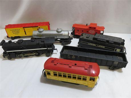 Vintage LIONEL Train Car Lot