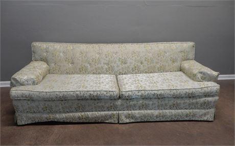 Vintage Ethan Allen Skirted Sofa