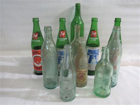 11 Piece Vintage/Antique Bottle Lot