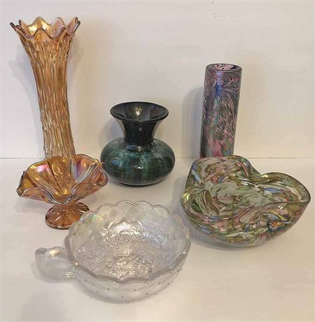 Assorted Glass Collector Lot