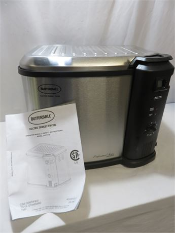 BUTTERBALL Electric Turkey Fryer