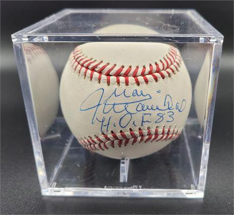 Juan Marichal Hand Signed Officially Licensed Baseball