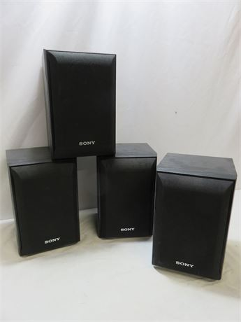 SONY SS-B1000 Bookshelf Speakers (4)