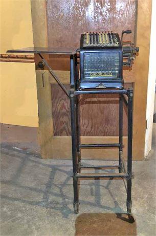 Antique Burroughs Adding Machine