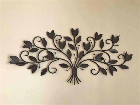 Scroll Leaf Wall Art