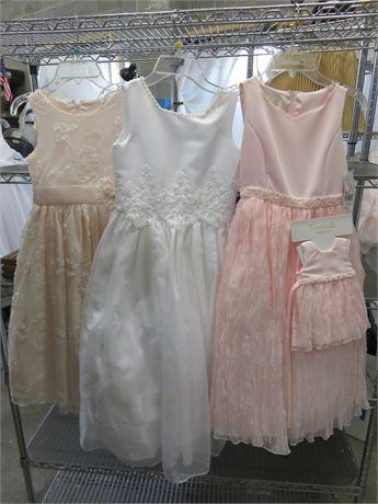 Girl's Communion / Flower Girl / Party Dresses - SIZE 7