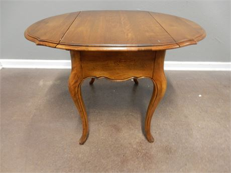 Vintage Drop Leaf Wood Table