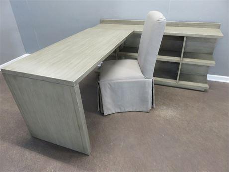 L-Shaped Work Station Desk