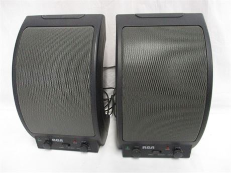 LOT OF 2 RCA WSP150 WIRELESS SPEAKERS
