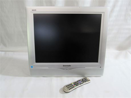 "PHILLIPS VIERA 20"" FLAT PANEL LCD TV WITH REMOTE"
