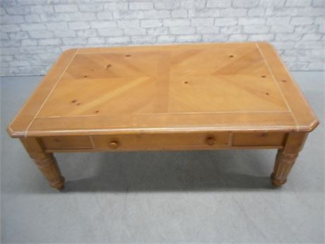 VINTAGE/DISTRESSED LOOK COFFEE TABLE