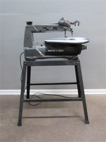 "Porter Cable 16"" Scroll Saw with Stand"