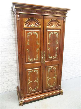 BEAUTIFUL CLOTHING ARMOIRE