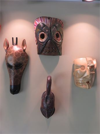 Tribal Mask Decor