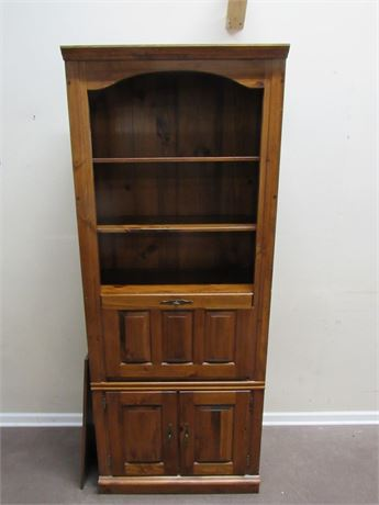 DISPLAY/HUTCH WITH SECRETARY DESK