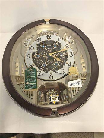 Seiko Collector's Edition Swarovski Clock