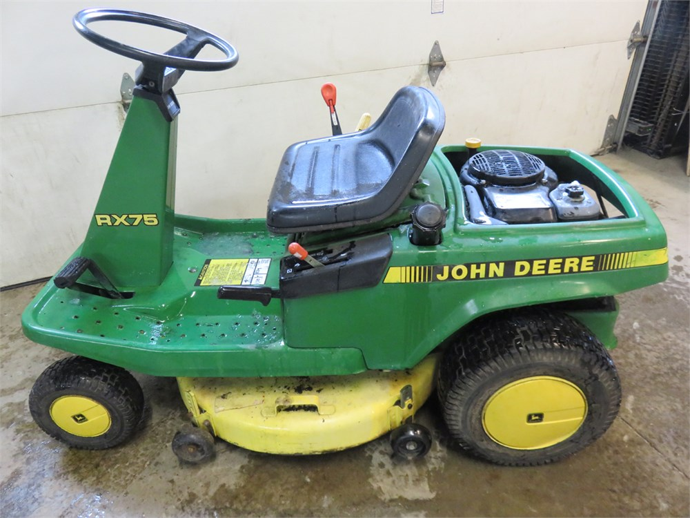 Transitional Design Online Auctions - JOHN DEERE RX75 Rear