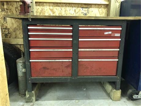 Craftsman Tool Cabinet & Tools