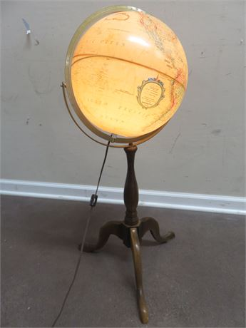REPLOGLE World Premier Series Lighted Globe