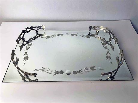 Etched Vanity Tray