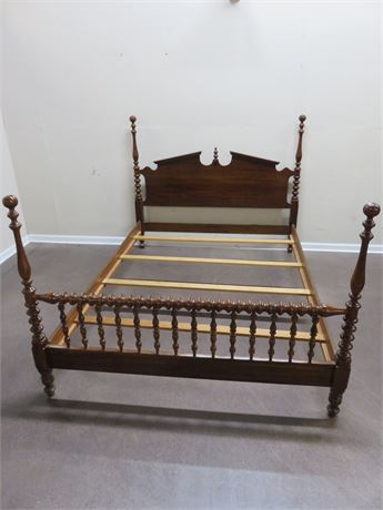 Queen Cherry Poster Bed