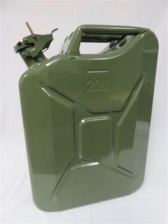 20 Liter Nato Green Jerry Can