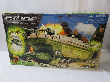 G.I. Joe The Rise of Cobra PIT Mobile Headquarters Playset