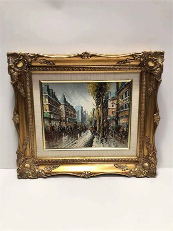 Domiano Framed Lithograph