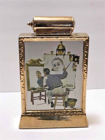 Norman Rockwell Limited Edition Decanter