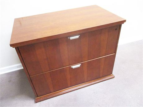 2-DRAWER LATERAL FILE CABINET BY NATIONAL OFFICE FURNITURE