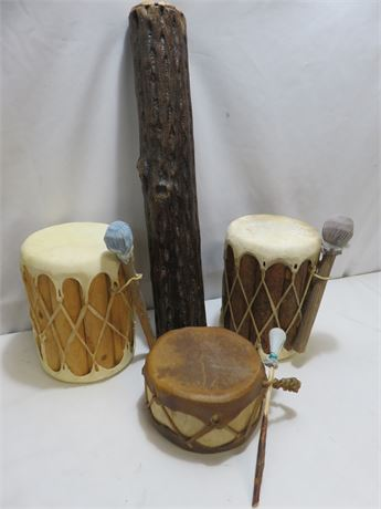 Tribal Style Instrument Lot