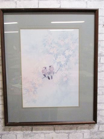LOVELY BIRD PRINT BY T.C. CHIU