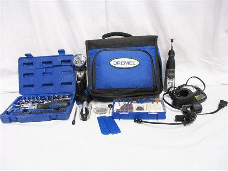 LOT OF TOOLS FEATURING DREMEL