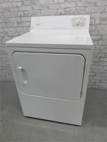 GE 5.8 Cu. Ft. Large Capacity Electric Dryer