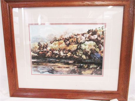 """""""PRISTINE MORNING"""" BY RALEIGH KINNEY #27/200 - SIGNED"""