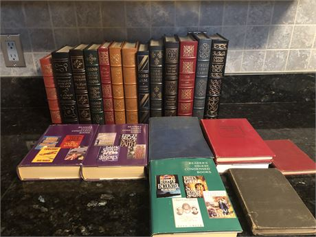 Easton Press Leather Bound Collector's Edition Books